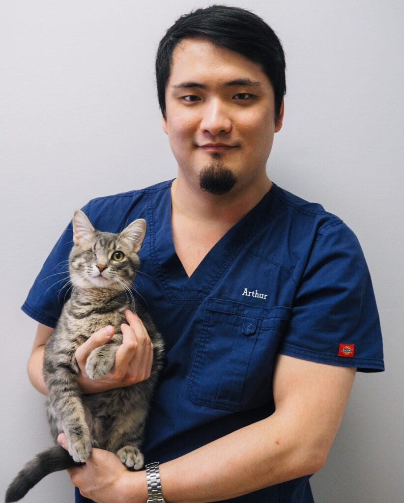 Arthur Leung | Wellington Veterinary Hospital