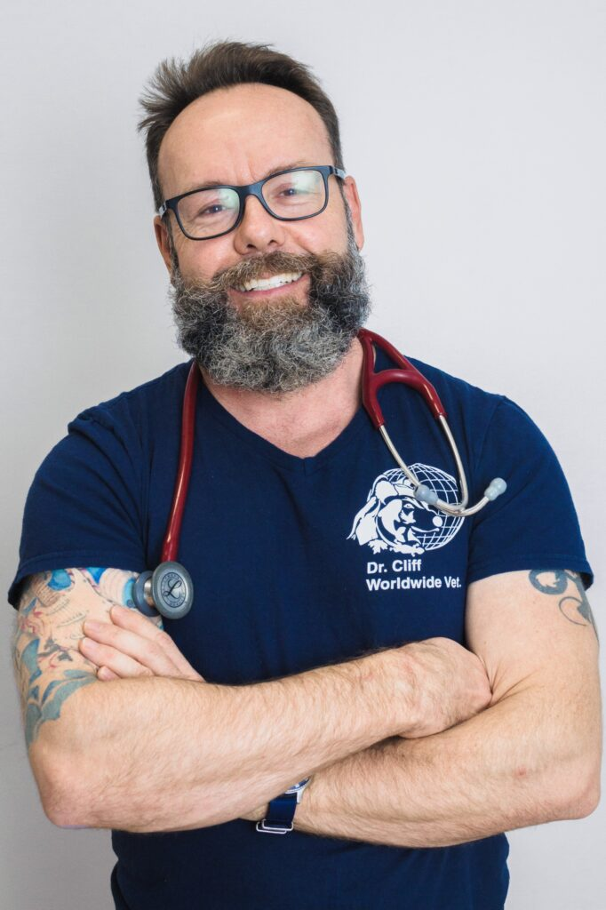 Dr. Cliff Redford, DVM, Wellington Veterinary Hospital